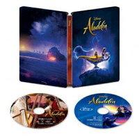 アラジン 4K UHD MovieNEX スチールブック(数量限定)