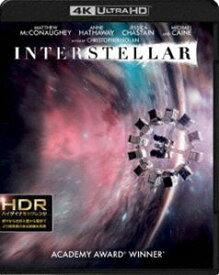 [送料無料] インターステラー<4K ULTRA HD&ブルーレイセット> [Ultra HD Blu-ray]