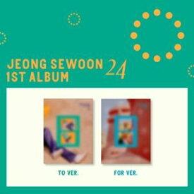 輸入盤 JEONG SEWOON / 1ST ALBUM : 24 PT.1 [CD]