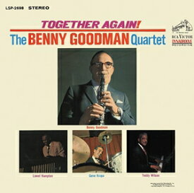 輸入盤 BENNY GOODMAN QUARTET / TOGETHER AGAIN [CD]