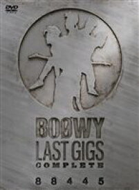 BOOWY/LAST GIGS COMPLETE 88445 [DVD]