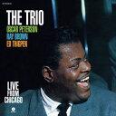 輸入盤 OSCAR PETERSON TRIO / LIVE FROM CHICAGO [LP]