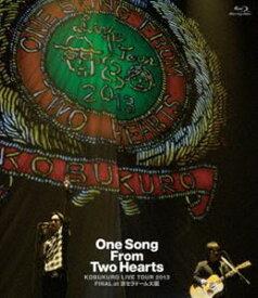 """[送料無料] コブクロ/KOBUKURO LIVE TOUR 2013""""One Song From Two Hearts""""FINAL at 京セラドーム大阪(Blu-ray) [Blu-ray]"""
