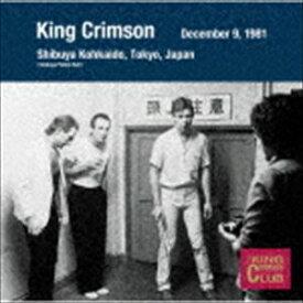 キング・クリムゾン / コレクターズ・クラブ 1981年12月9日 東京 渋谷公会堂 [CD]