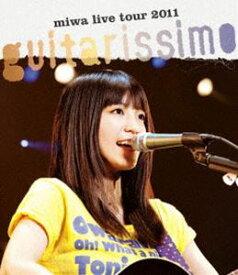 """[送料無料] miwa live tour 2011 """"guitarissimo"""" [Blu-ray]"""