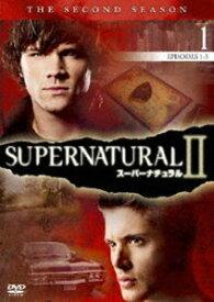 SUPERNATURAL II スーパーナチュラル〈セカンド・シーズン〉Vol.1 [DVD]