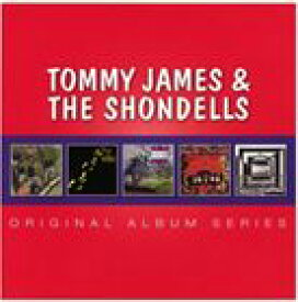 輸入盤 TOMMY JAMES & THE SHONDELLS / ORIGINAL ALBUM SERIES [5CD]