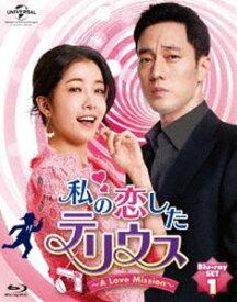 私の恋したテリウス〜A LOVE MISSION〜Blu-ray-SET1【特典映像DVD付】 [Blu-ray]