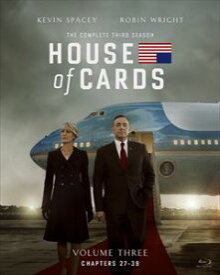 [送料無料] ハウス・オブ・カード 野望の階段 SEASON3 Blu-ray Complete Package(デヴィッド・フィンチャー完全監修パッケージ仕様) [Blu-ray]