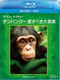 [送料無料] ディズニーネイチャー/チンパンジー 愛すべき大家族 ブルーレイ+DVDセット [Blu-ray]