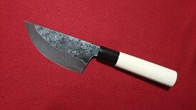 猟師さんの包丁 95mm 青紙スーパー 両刃 いのしし 狩猟ナイフ 解体包丁 特殊包丁