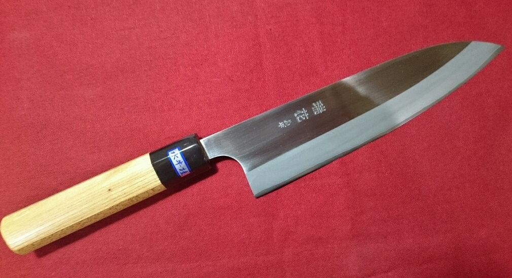 ZDP-189包丁 ZDP 包丁 牛刀 瑞花 剣型 180mm 三条 義平刃物