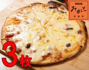 わんちかピザ 3枚セット 約直径20センチ 薄い 一人前 ミニ トマトソース おつまみ 青森 チーズ アンチョビ 晩酌 居酒屋 ビール 酒 一人前 小腹 口さみしい スナック菓子 おやつ 家族団らん 冷