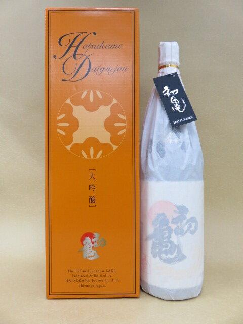 初亀 大吟醸 愛 1800ml【初亀醸造】【静岡県】【日本酒】