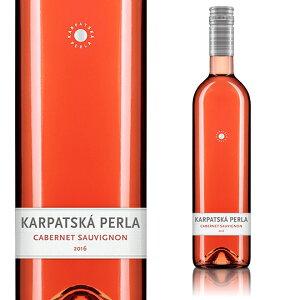 【欧州格付けワイン受賞商品多数】【2本以上お買い上げで送料無料】【スロバキア】カルパツカ・ペルラ カベルネ・ソーヴィニヨン ロゼ 2018(ロゼ/辛口)《Karpatska Perla Cabernet Sauvignon ro