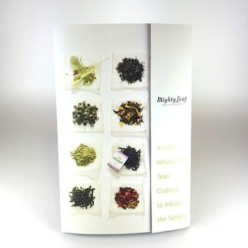 ティーパウチブックサンプラー Tea Pouch Book Sampler マイティーリーフ 送料無料 紅茶 緑茶 ハーブティー ギフト ティーバッグ セット サンプラー アソート おしゃれ かわいい