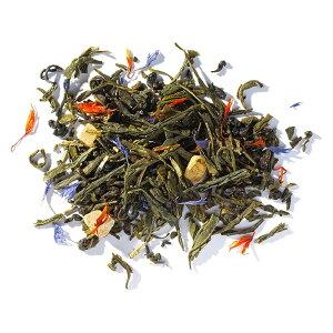 グリーンティートロピカル 10gマイティーリーフ 緑茶 茶葉 リーフティー フレーバーティー フルーツ トロピカル お試し