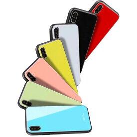 送料無料 スマホケース アイフォンケース iPhoneケース ハード 新機種対応 iPhone7 iPhone8 iPhone7Plus iPhone8Plus iPhoneX iPhoneXS iPhoneXS Max iPhoneXR 上品 おしゃれ かわいい スマホカバー 背面ガラス 手触りいい