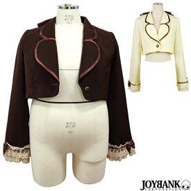 ショート ジャケット 姫袖 ボレロ 5L [8mm] 大きいサイズ カラー2色 フリル ゴスロリ ロリィタ クラシカル 04000312