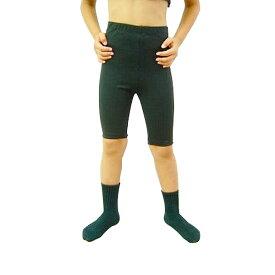 【在庫処分セール】男の子用 バレエ 5分丈スパッツ 100cm〜170cm レッスン着 ブラック 黒 男の子 ボーイズ