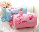 子供 バレエ レッスンバッグ★Aterre キラリ☆チュチュと可愛いリボンモチーフのドラムバッグ