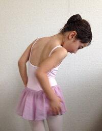 子供バレエシンプルレオタード☆アラベスク☆お教室を問わない万能デザインのレオタードです!
