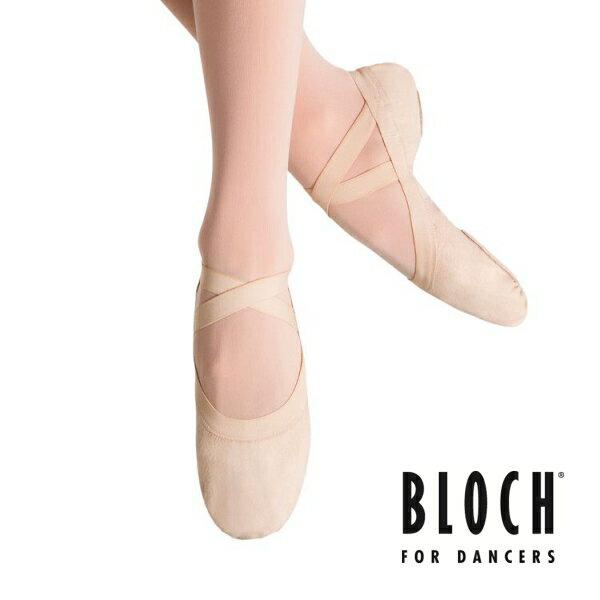 【BLOCH】バレエシューズ(ブロック:Pro Erastic)ピンク★足先が美しく甲もよく出るバレエシューズ! 【Pink/ピンク】