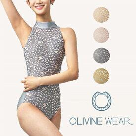 【 OLIVINE WEAR 】 PENELOPE 大人 レオタード オリビン オリヴィン バレエ バレエウェア ジュニア レース レッスン 着 大人用 レースが美しいレオタード 韓国 ブランド バレエ用品 日本で買えるのはミニヨンだけ! ホルターネック ホルター