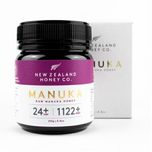 マヌカハニー MGO 1122+ (MGO1100以上) 250g 生マヌカハニー UMF24+ 希少 非加熱処理 マヌカの木 マヌカはちみつ ハチミツ 高級 蜂蜜 ニュージーランド 送料無料 最高級 ニュージーランド 産 健康