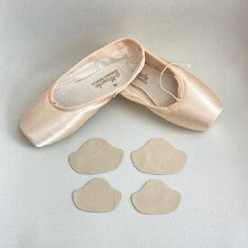 サイズ調整 かかと に シール を貼って サイズ 調整 が 可能! トウシューズ バレエ ポワント パンプス マメ 予防 靴ずれ 防止 に。