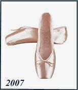 トウシューズ【グリシコ】2007 ⇒(シャンクM)<グリシコ各種トウシューズ2足以上の場合送料無料♪>*