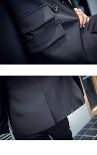 レディーススーツビジネススーツ2点セットセットアップパンツスーツキャリアフォーマルスーツ通勤就活事務服オフィス卒業式長袖ロング丈パンツoffice