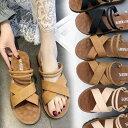 【短納期】フラットサンダル レディース 靴 歩きやすい夏の新スタイル ヒール ローヒール 美脚 靴 シューズ カップル…