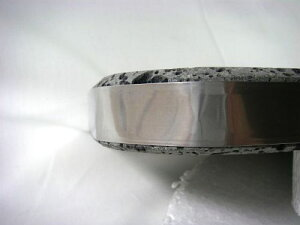 高耐久溶岩プレート15×30×3cm厚黒玄武製
