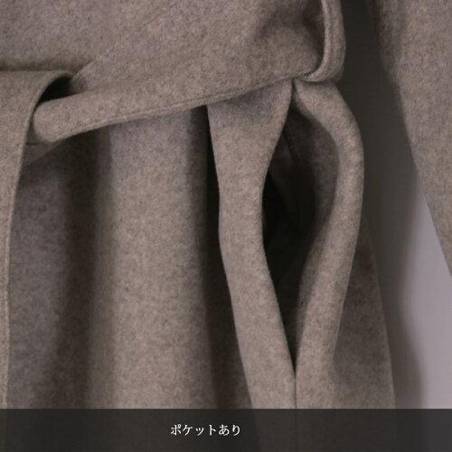 【送料無料】ロングコートレディース冬ロング丈冬サイドスリットチェスターコートアウター冬物