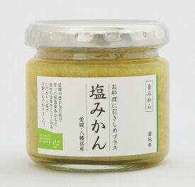 愛媛の新しい調味料 お料理に引き締めプラス 塩みかん (青みかん) 150g 12本セット