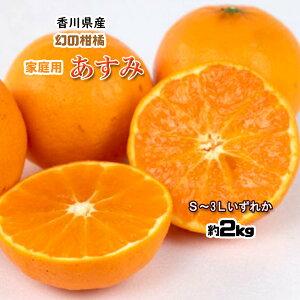 あすみ 家庭用 香川県産 高糖度 希少品種 はるみ S〜3L 約2kg 送料無料 数量限定 希少