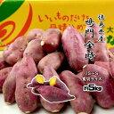 鳴門金時 食べきりサイズ S〜2Sサイズ 徳島県産 なると金時 金時芋 さつまいも 5kg 送料無料