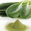 国産野菜パウダー 小松菜パウダー 100g入。加熱せずに食べれる野菜パウダー。【アレルゲンフリー・国産100%・殺菌済・…