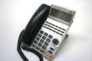中古ビジネスホン・サクサ18ボタン多機能標準電話機(黒)