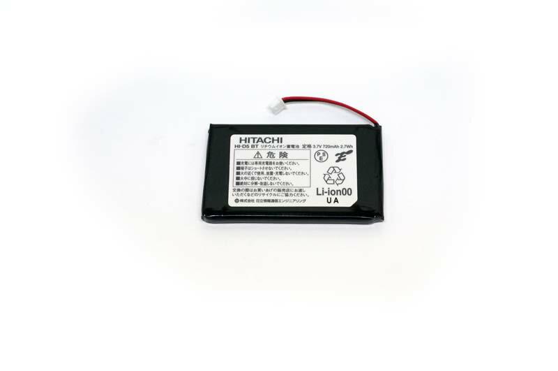 【新品】日立・ナカヨ製ビジネスフォンHI-D5PS電池パックHI-D5BT