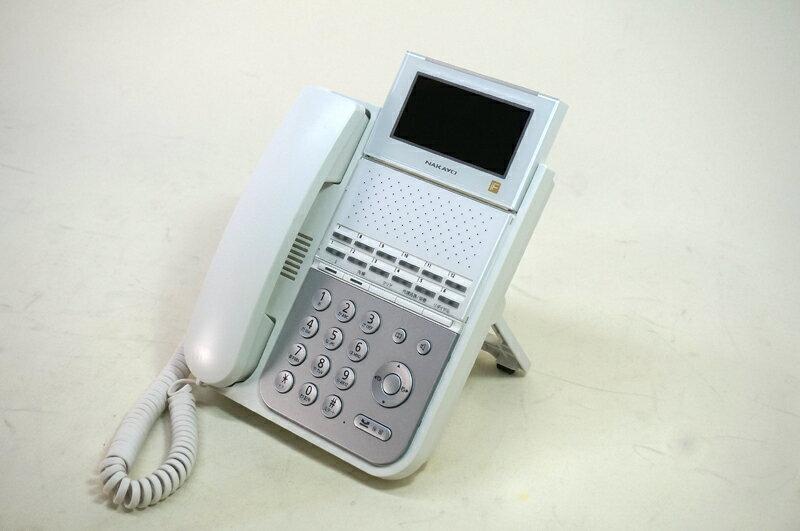 【中古】ビジネスフォン ナカヨ製 iFシリーズ用 12ボタン標準電話機(白) NYC-12iF-SDW