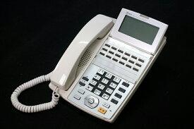 【中古】NTT αNX 18ボタンスター標準電話機 白 ビジネスホン、スター配線用、18ボタンの標準タイプの電話機 NX-(18)STEL-(1)(W)