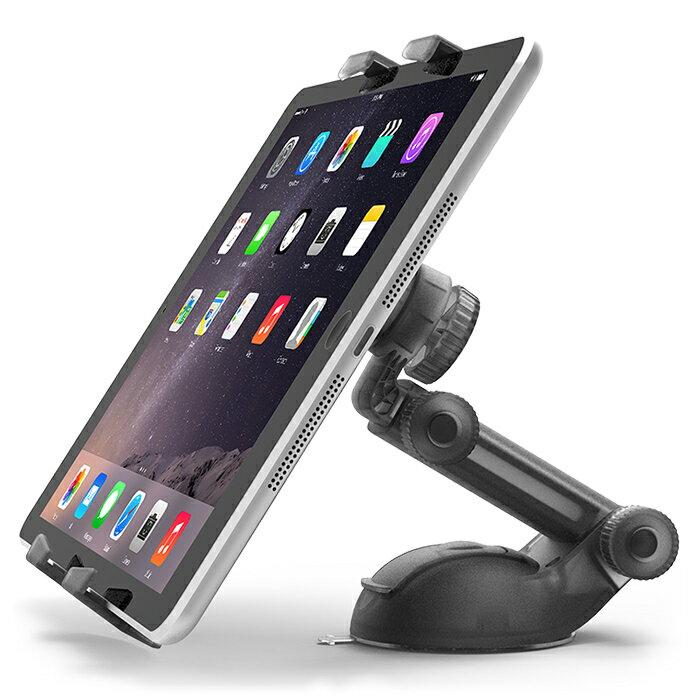 【100円OFF】【送料無料】車載ホルダー タブレット ipad ホルダー タブレットホルダー 車載用 タブレット ホルダー タブレットスタンド 強力固定 角度調節 可能 iPad スタンド