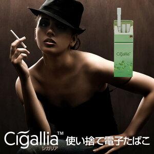使い捨て電子たばこ使い捨て電子タバコCigalliaシガリアニコチン0タール0電子たばこ電子タバコ加熱式タバコ