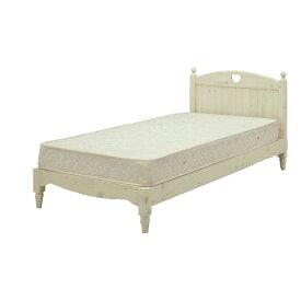 シングルベット フレームのみ ロマンチック お姫様 プリンセス 白家具 かわいいベッド 【ロマンティック】GOK[G2]【QOG-60】マットレスは別売り
