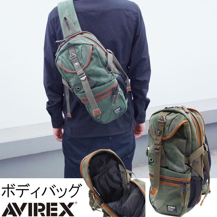 ボディバッグ アヴィレックス AVIREX ボディーバッグ 背面バッグ 背中バッグ 正面バッグ メンズ レディース ユニセックス PR10 ボデーバッグ ボディバッグ 斜め掛け