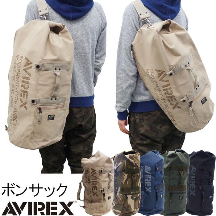 ボンサック アヴィレックス AVIREX ショルダーバッグ ボストンバッグ ボディバッグ メンズ PR10 大きい ビッグ BIG