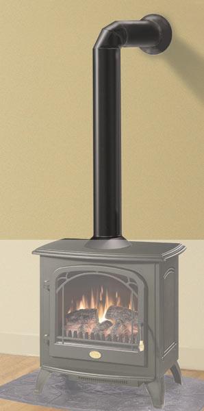 ダミーパイプ 送料無料  暖炉 ダンロ用[G2]