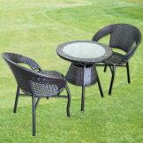 ラウンジチェアテーブル3点セット(3カラー)スタッキングチェア、椅子、ダイニングチェア送料無料(mal-)GMK-dtset[G2]【sm-260】